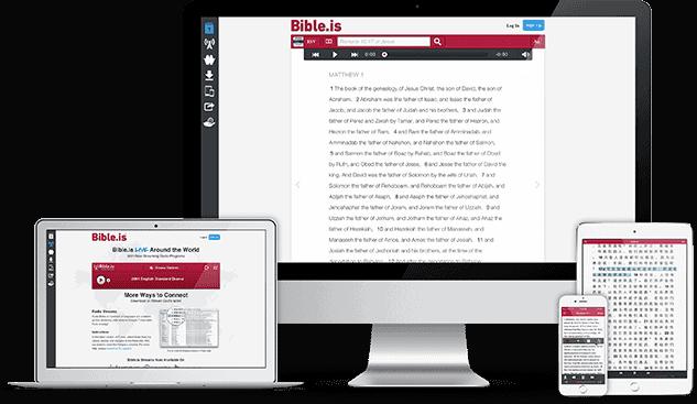 Bible.is 2.0 responsive redesign