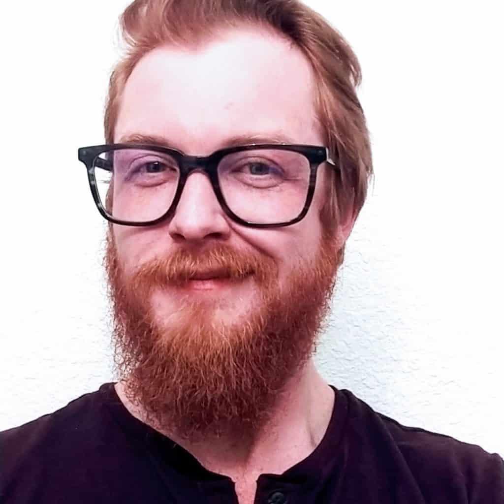 A portrait of Ben Fausch.