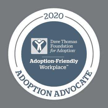 Badge - Dave Thomas Foundation for Adoption - Adoption Advocate