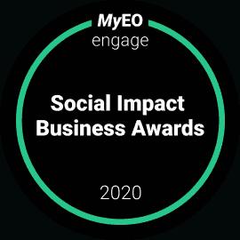 Badge - MyEO Engage Social Impact Business Awards 2020