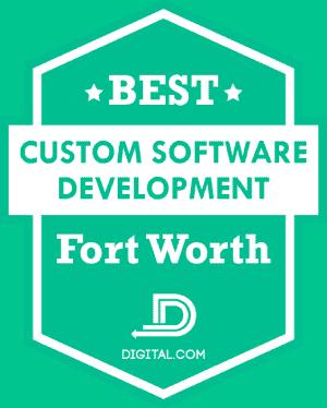 Badge - Best Custom Software Development Fort Worth